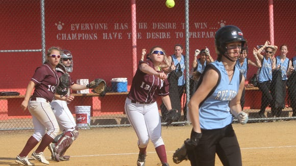 Rye Neck defeated Valhalla 8-2 to win the Section 1 Class B softball championship game against Valhalla at North Rockland High School May 30, 2015.