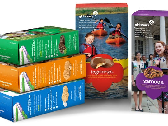 Photo: Girl Scouts More than 50 million households purchase Girl Scout Cookies every season, according to the Girl Scouts organization.