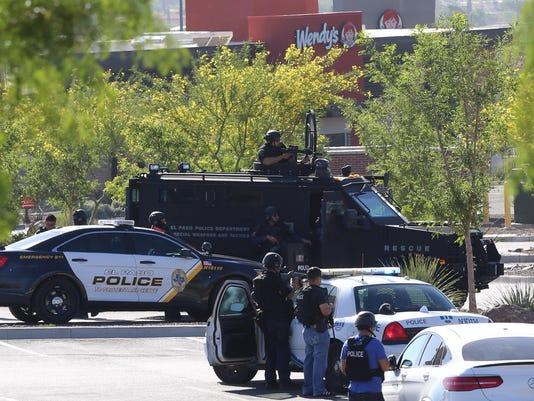 SWAT STANDOFF SUICIDAL MAN
