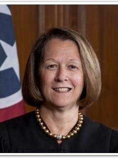 Tennessee Supreme Court Justice Cornelia A. Clark shown in a file photo.