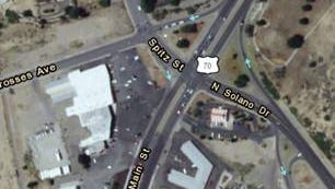 Solano Drive- 3 Crosses Avenue- N. Main Street intersection project.