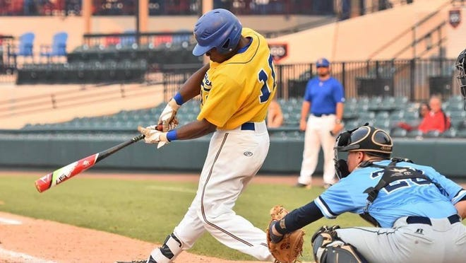 TCC outfielder and former Lincoln High player Jordan Curtis hit .370 for the Eagles this season.