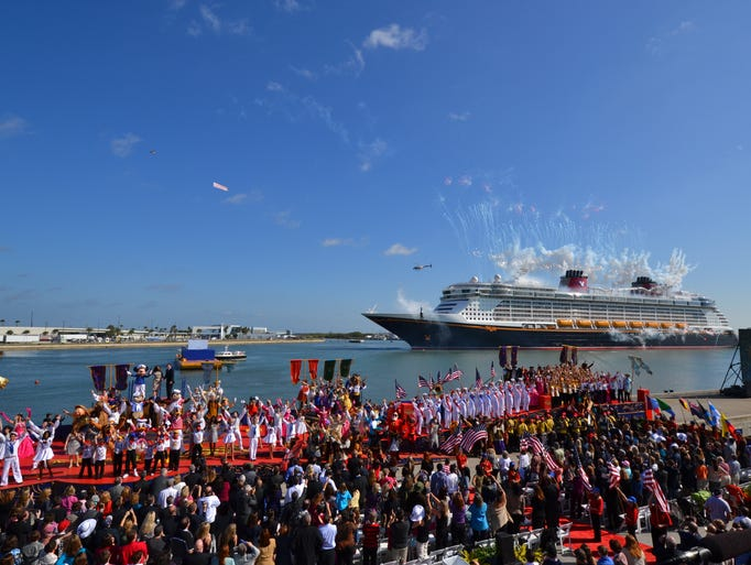 Christened on Jan. 19, 2011, the 2,500-passenger Disney Dream was the first new Disney Cruise Line ship to debut in more than a decade. A sister vessel, the Disney Fantasy, debuted a year later in 2012. 