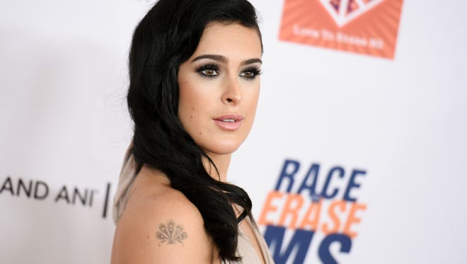 Rumer Willis arrives at the 22nd Annual Race To Erase MS Event in Century City, Calif.