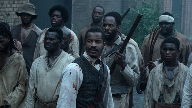 Nat Turner (played by Nate Parker) leads a slave revolt in 'The Birth of a Nation.'