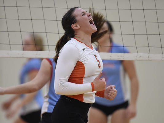 GPG ES Southern Door vs. West De Pere VB 10.20.15