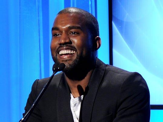 AP People-Kanye West