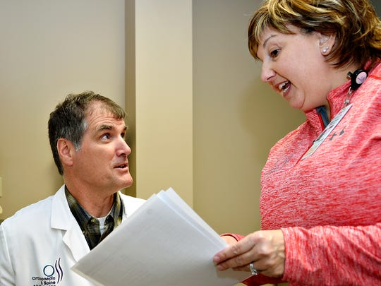 Dr. James Gilhool looks at impact test results with