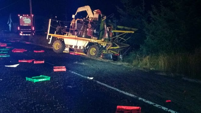 One man has been identified as a victim in a two-vehicle crash that occured at 12:01 a.m. on Thursday, July 21, 2017. Genaro Colohua, of Woodburn, died at the scene, according to Oregon State Police.