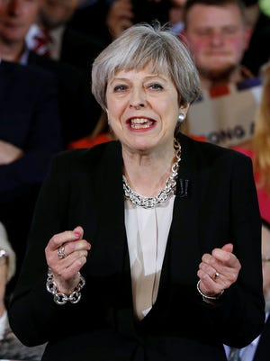 """British Prime Minister Theresa May surprised the world by calling for a """"snap"""" general election that could strengthen her hand in Brexit talks."""