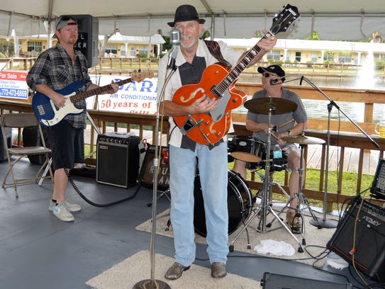 The Rebel Rouser Band performs at St. Francis Manor's