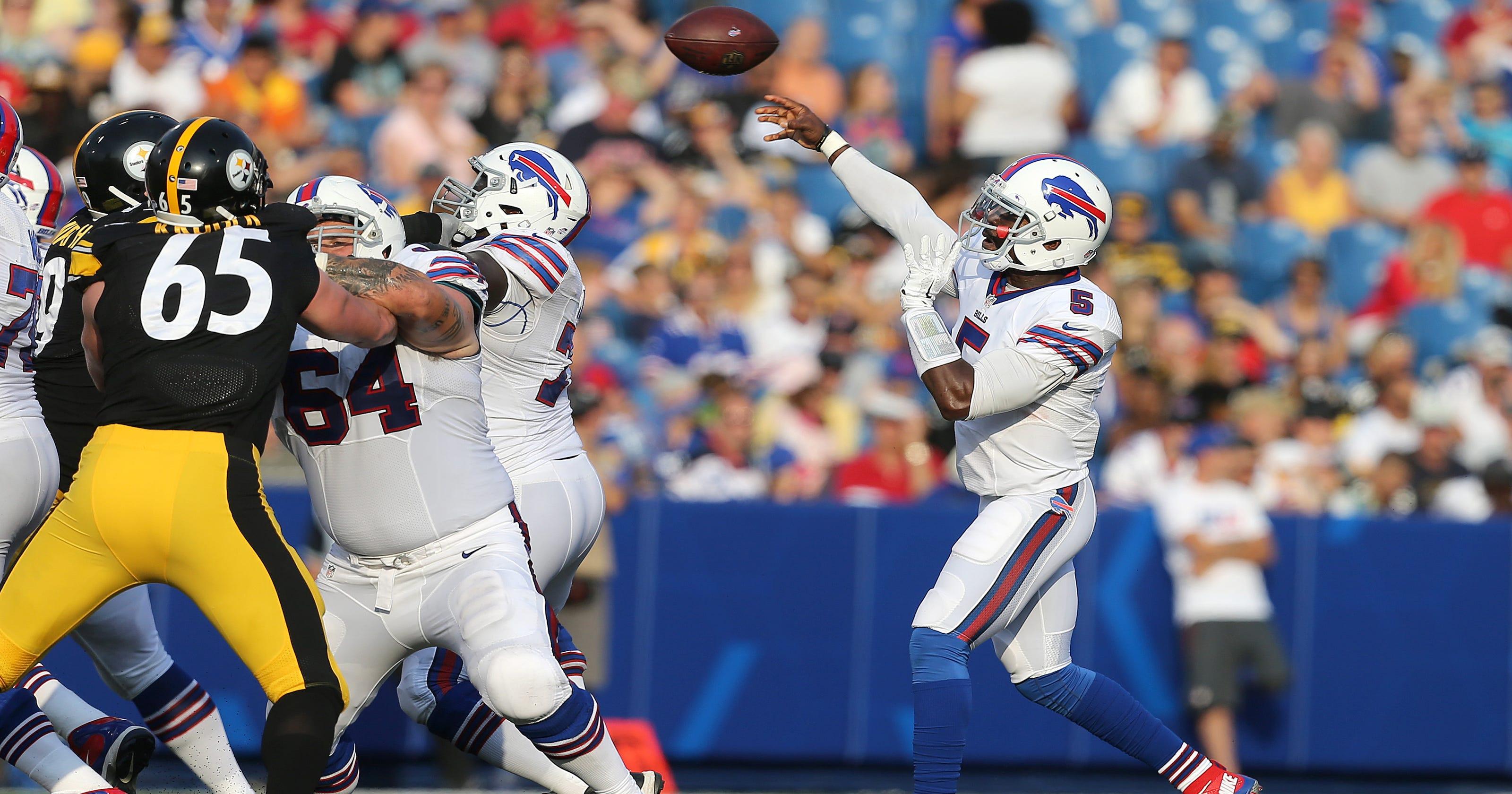 28cfd62f156 Tyrod Taylor named Buffalo Bills starting quarterback