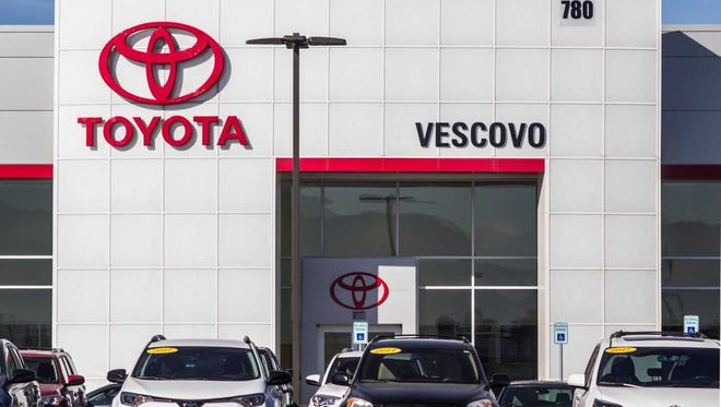 Vescovo Toyota is open in its new location at780 S. Valley Drive.