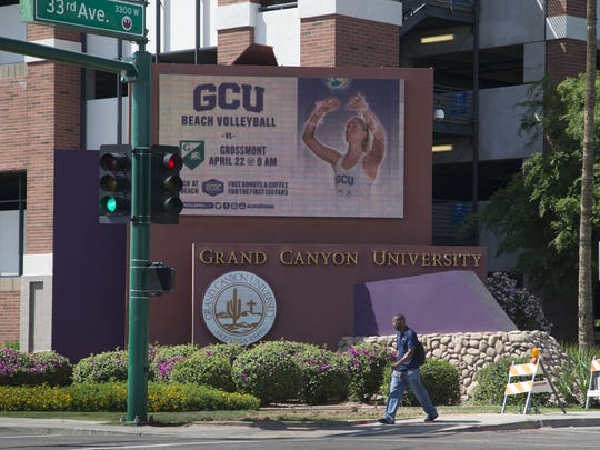 Grand Canyon University in Phoenix.