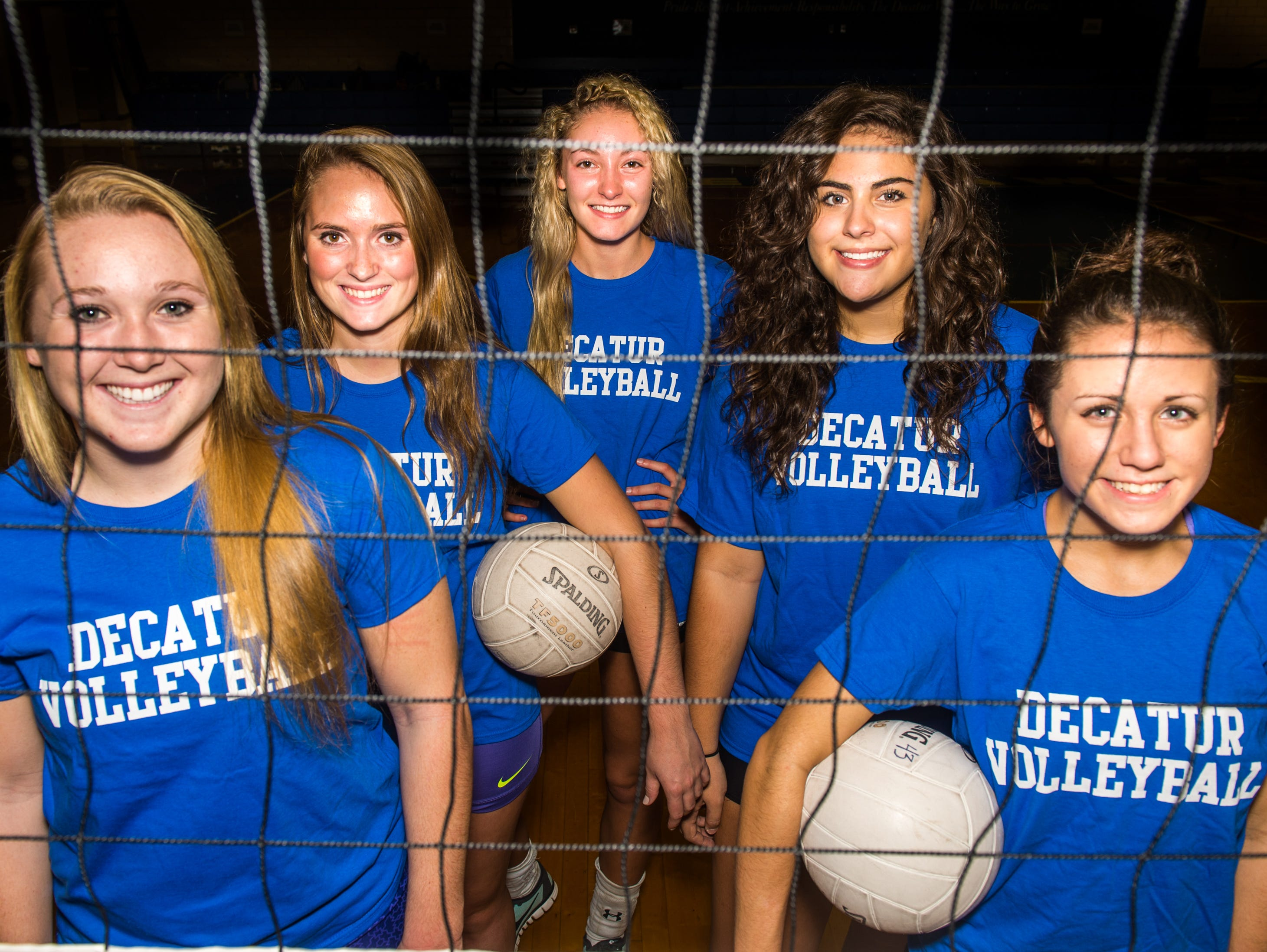 Stephen Decatur seniors Elle Bargar, Hannah Saulsbury, Marley Parsons, Taylor Lago and Lauren Laque are leading a resurgent Seahawks volleyball team with high hopes for the playoffs.