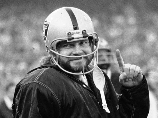Ken Stabler and the Raiders lost just one game en route