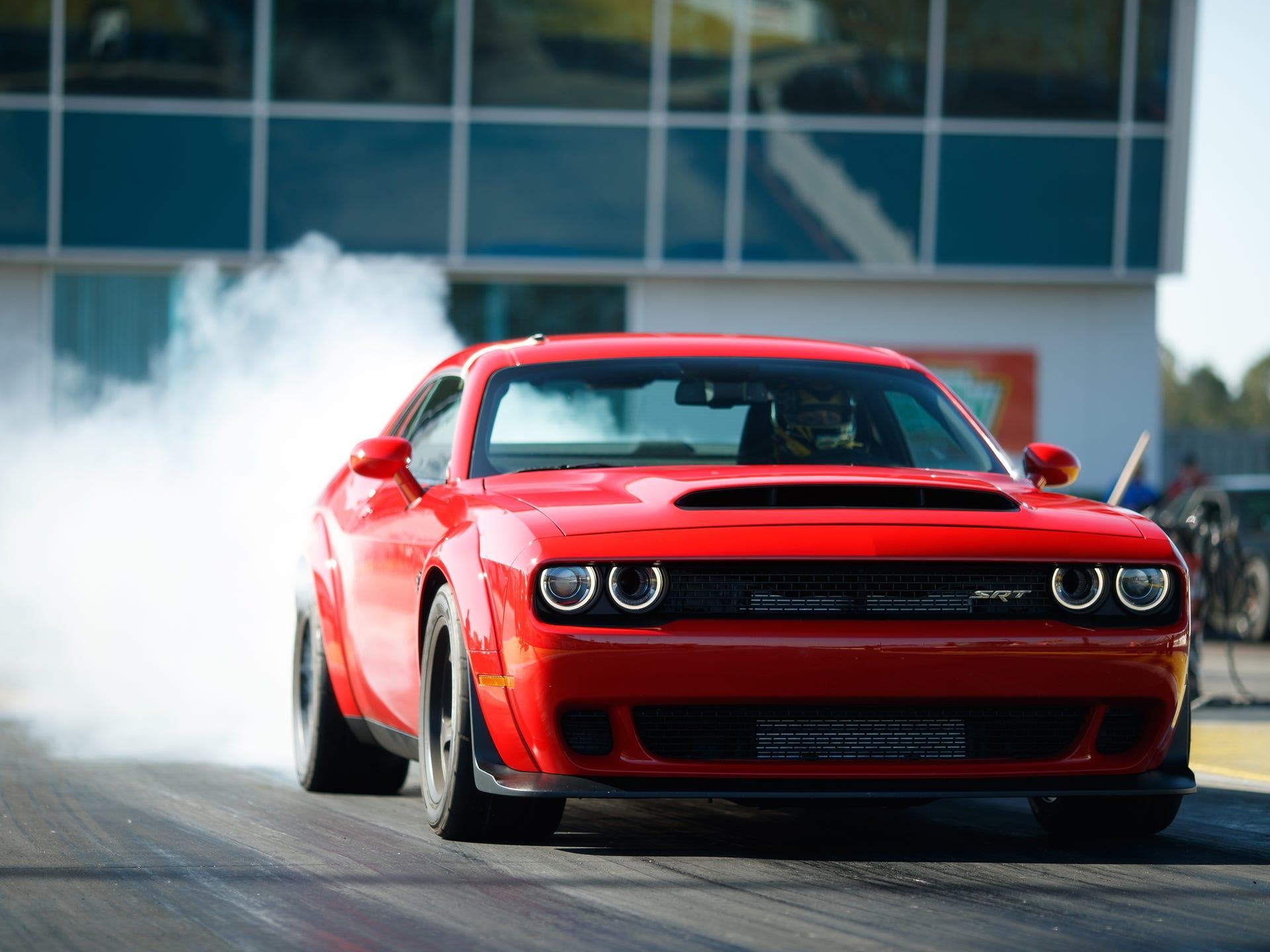The 2018 Dodge Challenger Srt Demon