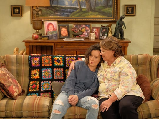 Catch it while you can: In an empathetic moment, Roseanne