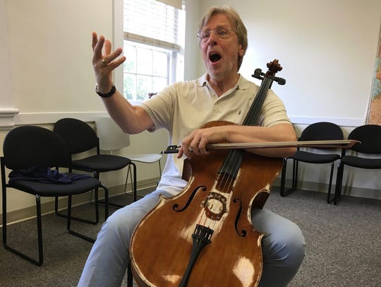 Returning for his fifth year, Heifetz Institute teacher