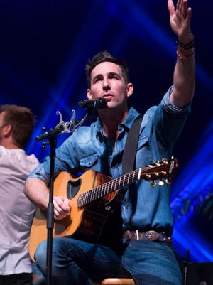 Country star Jake Owen, Lady Antebellum's Charles Kelley and other area musicians perform Dec. 9, 2016, to an enthusiastic crowd at the Vero Beach High School Performing Arts Center during the Jake Owen Foundation Benefit Concert.