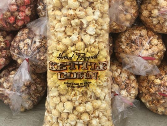 Some of the most popular flavors of popcorn at Mama's