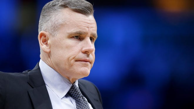 Billy Donovan is the new coach for the Chicago Bulls.
