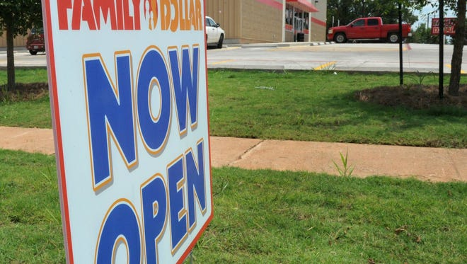 The newly built Family Dollar located in the 700 block of Martin Luther King Jr. Boulevard is now open for business on the city's east side. With its opening on Thursday morning, it marked the first new development in that community in decades.
