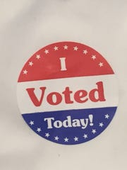 Some voters in Tuesday's primary election chose their