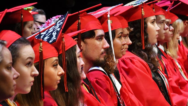 Edgewood Junior / Senior High in Merritt Island held their graduation at the Maxwell C. King Center for the Performing Arts at the EFSC Melbourne campus.