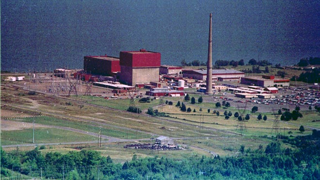 New York State's James A. Fitzpatrick nuclear power plant in Scriba, N.Y., is seen in this Aug. 13, 1991, file photograph.