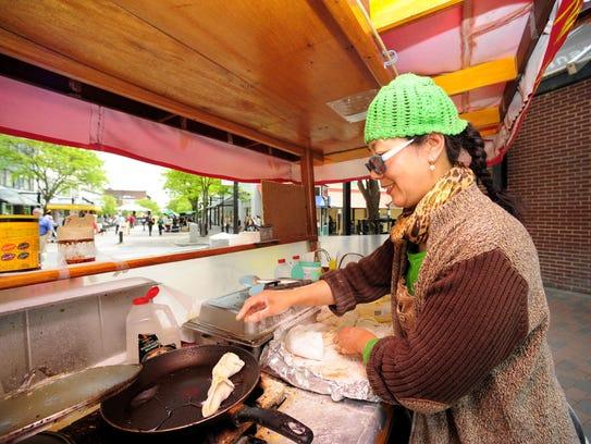 Hong Yu of Burlington, owner of Hong's Chinese Dumpling