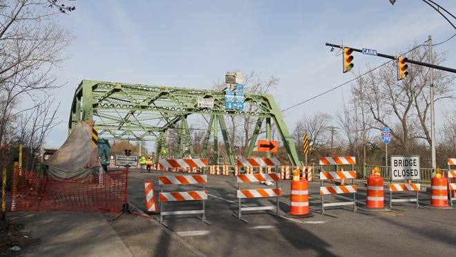 The bridge on Chili Avenue between Gates and Rochester was closed last spring due to advanced steel deterioration. It is one of a number of bridges that the state has either shut down or reduced use of because of structural issues.