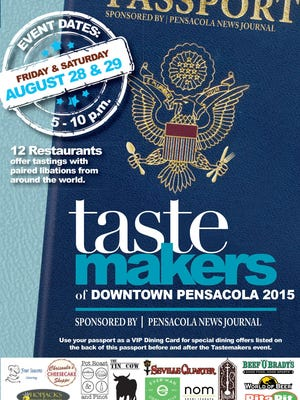 Your Tastemakers Passport will take you around teh world and around downtown Pensacola this weekend, with international cuisine and beverage samples at a dozen downtown eateries.