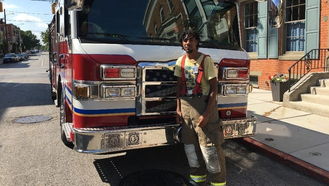 Marquise Granton worked for the York City Fire Department this year.