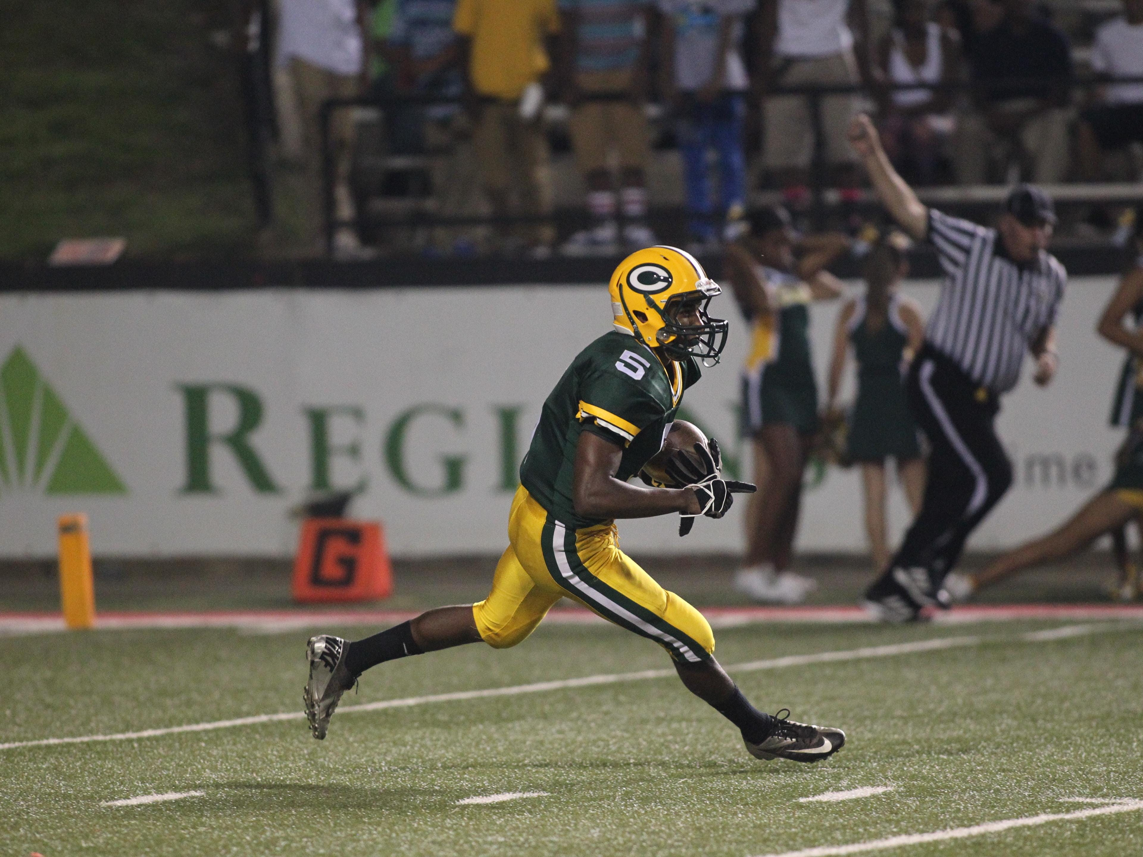Cecilia High speedster Raymond Calais is hoping to save his best for last for the Bulldogs this fall.