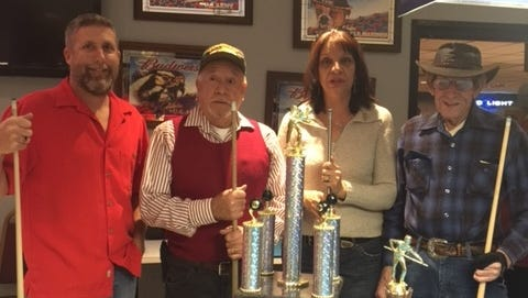 The Friendship Pool Tournament was held on Dec 19th, 2015. At the VFW. First Place was Jim Wagner and Andy Nejeres from the American Legion. Second Place was Jenny Dickerson and Curly Burton from the VFW.