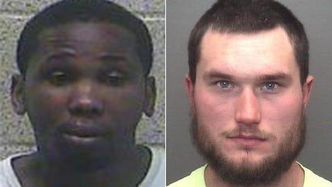 Left: Anthony Burris, Right: Coleman Sheridan
