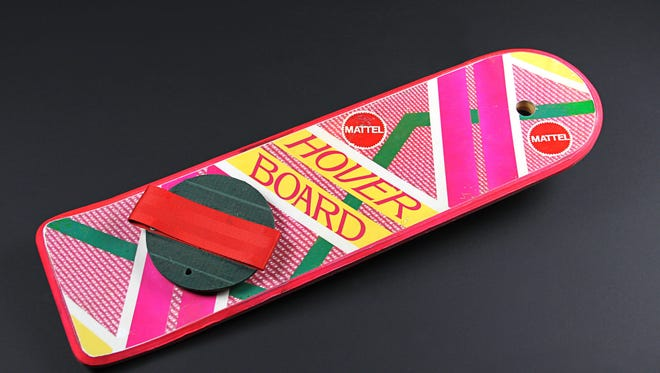 Hoverboard from 'Back to the Future: Part II'
