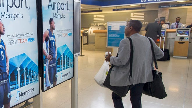 Memphis International Airport officials credit lower fares, sparked by the demise of Delta Air Lines' hub and an influx of low-cost carriers, with boosting air travel by locals.