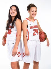 Taylor VanderVelde (left) and Jada Cunningham