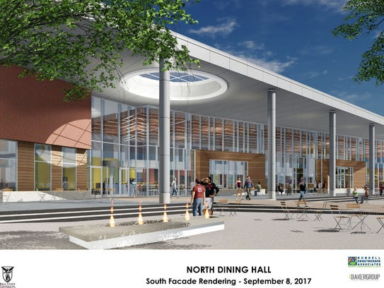 The proposed North Dining Hall at Ball State University