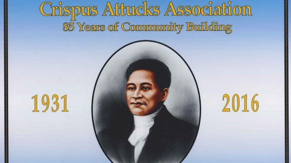 Crispus Attucks died at the hands of British soldiers in 1770, an event known as the Boston Massacre. More than 150 years later,  a social and recreation agency bearing his name was formed to service York's growing black community. This is the cover of volume one of a newly published history of Crispus Attucks Community Center.