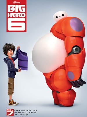 """""""Big Hero 6"""" will be shown at the Fond du Lac Public Library on April 3 as part of a half-day party."""