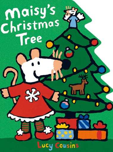 Maisy the mouse and pals Cyril and Tallulah prepare for the holiday, from trimming the tree to singing carols. One side of the book is cut out in the shape of a tree, something little ones might appreciate. Ages 2-5.