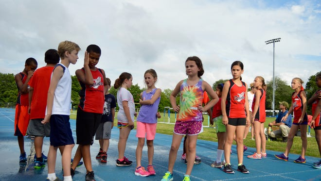 The Westchester Summer Twilight Series Youth meet give children the opportunity to learn about track and field and compete in all events.