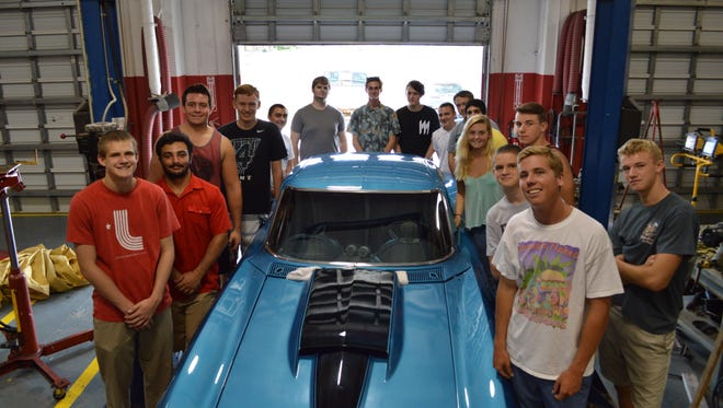 Automotive students from Satellite High are in the running for a Quaker State motor oil competition. Titusville High, Eau Gallie High and Heritage High are also hoping to make the cut.