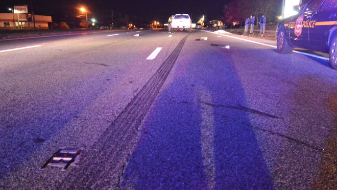 Delaware State Police are investigating a fatal crash where a pedestrian was struck in Bear.