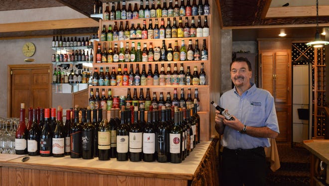 Pat Flanagan in his Flanagan's Craft Beer & Wine Bar in Appleton.