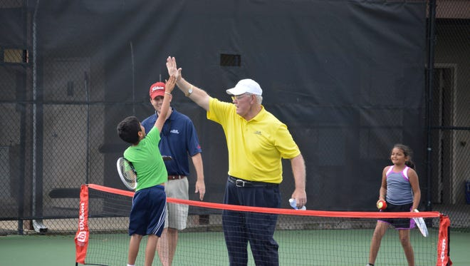 Rex Maynard, the tournament director for the Palmetto Championships junior qualifier for more than 30 years, will be inducted Saturday into the Southern Tennis Hall of Fame.