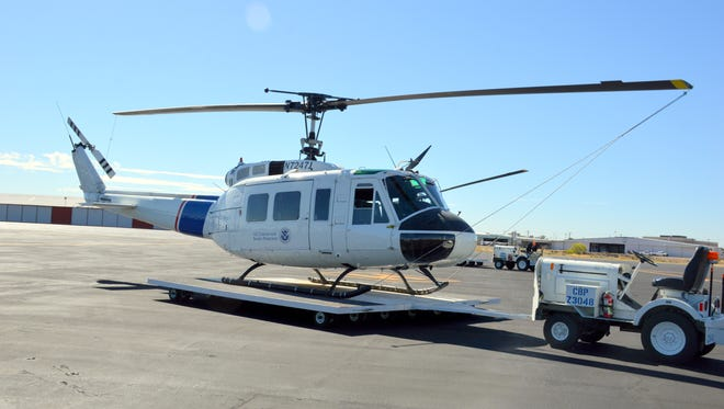 On May 25, 2016, U.S. Customs and Border Protection, Air and Marine Operations' (AMO) last remaining Bell UH-1H helicopter in operation (Registration Number N7247J)  made its final flight in El Paso,